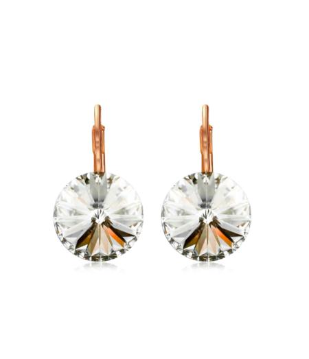 Säravad kristalliga kõrvarõngad