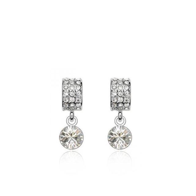 Swarovski kristalliga kõrvarõngad