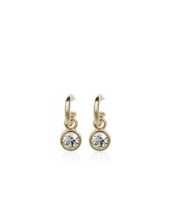 Särava kristalliga klassikalised kõrvarõngad