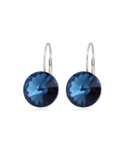 Sinised säravad kõrvarõngad