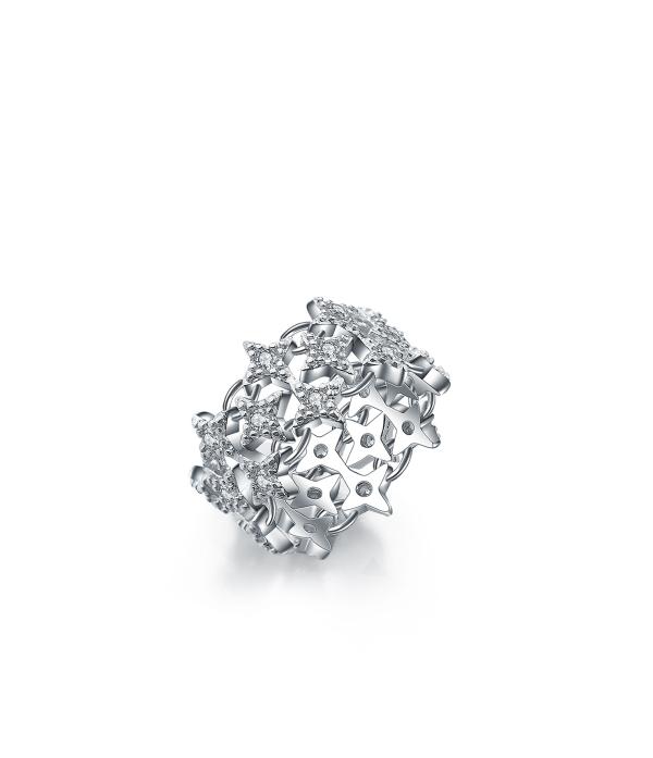 Kristallidega sõrmus