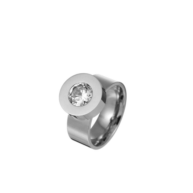 Vahetava kristalliga sõrmus