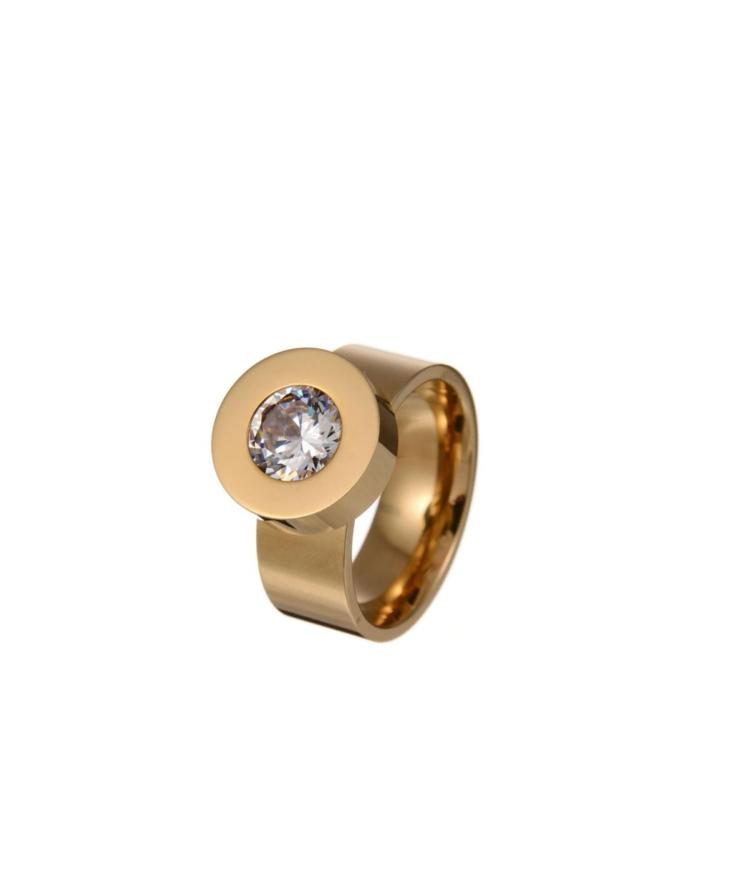 Vahetatava kristalliga sõrmus