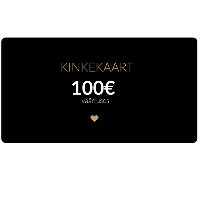 100€ kinkekaart