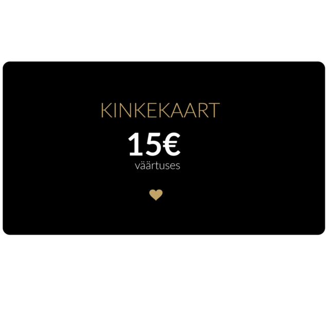 15€ kinkekaart