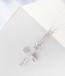 Swarovski kristallidega kaunistatud ristiga kaelakee