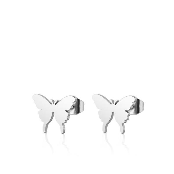 Väikese liblikaga kõrvarõngad