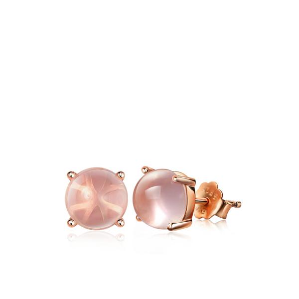 Pastelse opaaliga kõrvarõngad