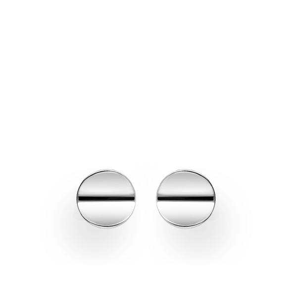 Kumera ringiga täpp-kõrvarõngad 925 hõbedast
