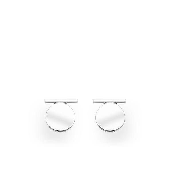 Väikesed ringikujulised täpp-kõrvarõngad 925 hõbedast