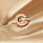 Ringikujulise kaunistusega sõrmus, millel on Rooma numbrid peal