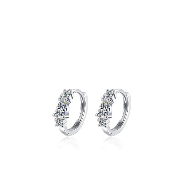 Sädelevate kristallidega kõrvarõngad