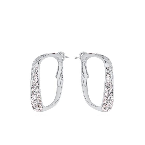 Sädeleva kristallireaga kõrvarõngad